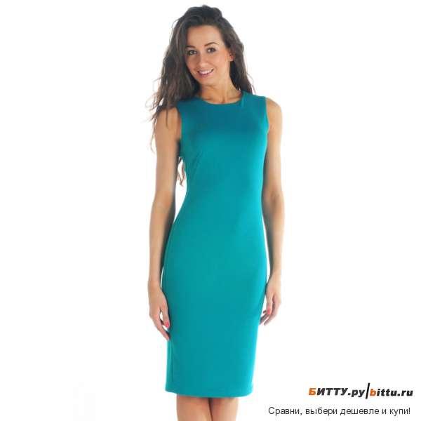 Прямое летнее платье фото