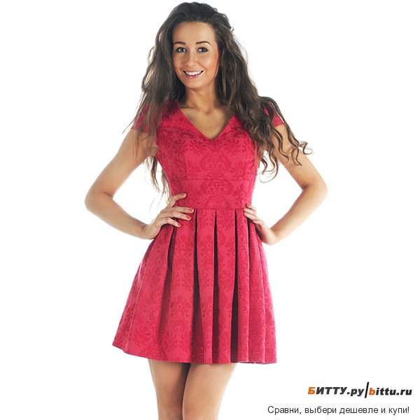 Платье женское короткое фото